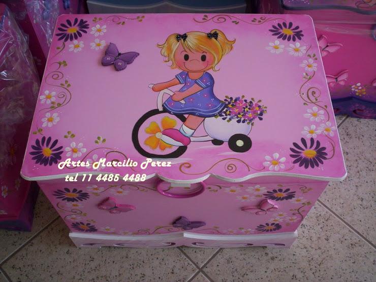Bau menina na Bike 2 R$ 160,00