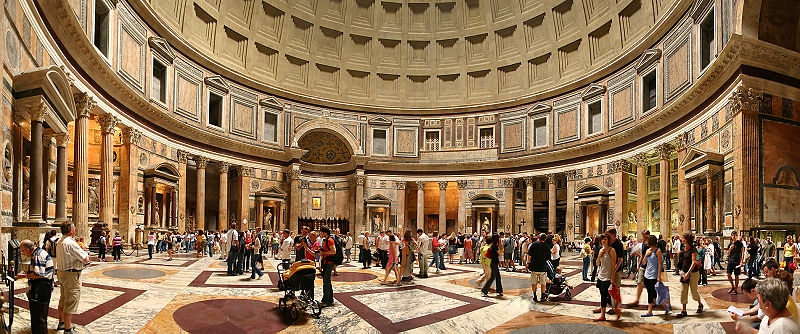 Matrimonio Porta Romana : Con imaginación es posible panteón de agripa