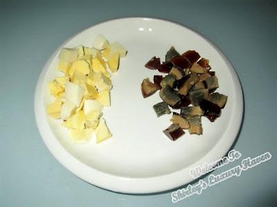 salted egg yolk century eggs recipe