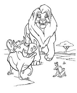 Лев тимон и пумба
