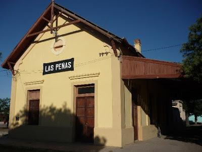 Estación de Las Peñas, Córdoba, Argentina
