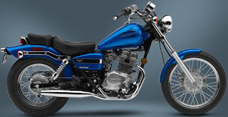 2009 Honda Rebel 250 Blue color