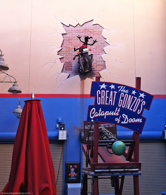 Great Gonzo's Catapult Doom Muppetvision 3D DCA California