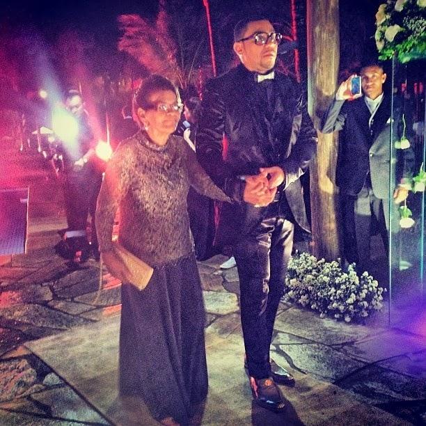 Mulher Moranguinho e Naldo se casam no Rio; confira fotos da festa