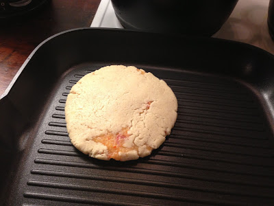 cooking papusas