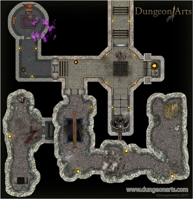 Dungeon Tiles Compatibility Map