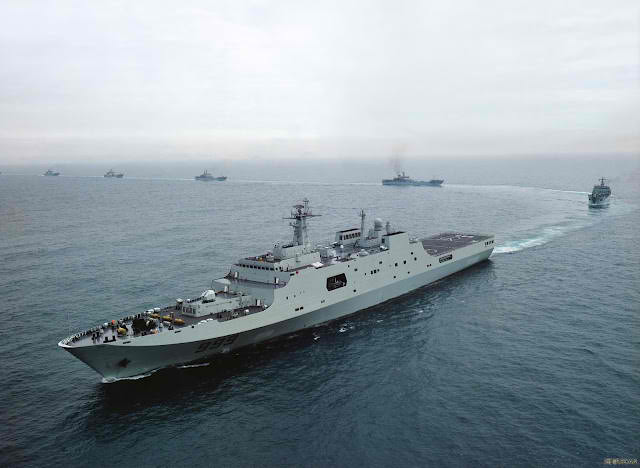China Sends Warships To Syria, Joining Russian Warships In Mediterranean Sea