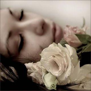 rosas bajo la piel de una mujer