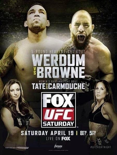 UFC Fight Night %E2%80%93 Werdum vs Browne Download   UFC Fight Night: Werdum vs. Browne (Português)   HDTV   COMPLETO