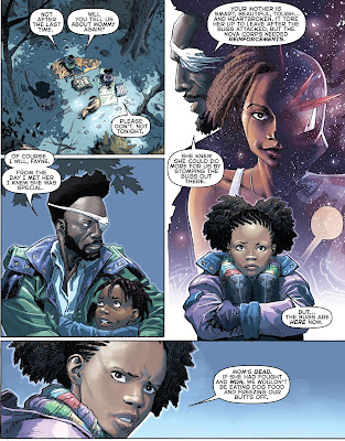 The story of Anwen's Mother, Infinity Gauntlet #1, Secret Wars