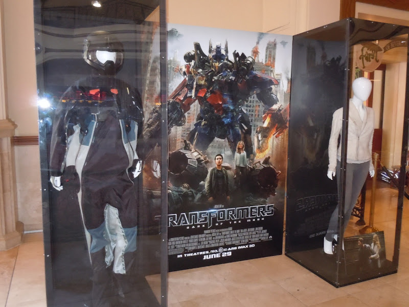 Transformers Dark of the Moon costume display