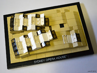 lego sydney opera house - the concert hall