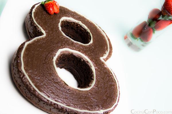 lekue molde numeros bizcocho sin gluten