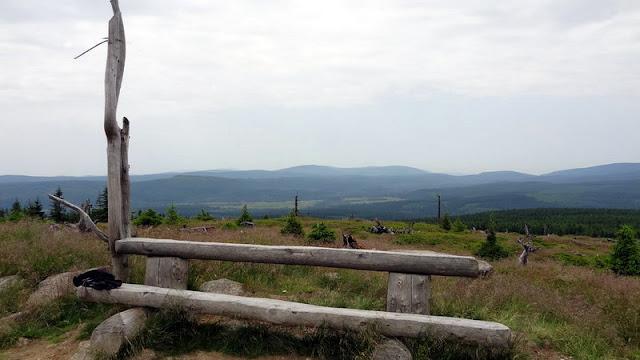 Isergebirge Hinterberg schlesische Seite Aufstieg von Bad Flinsberg