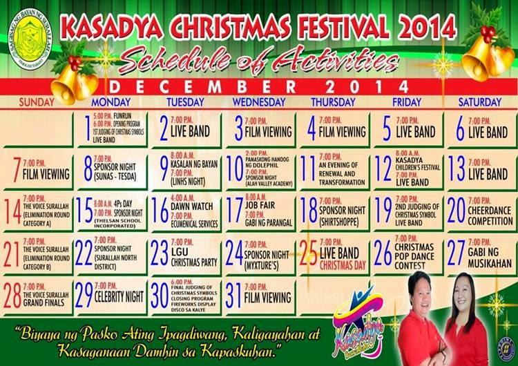 Kasadya Christmas Festival
