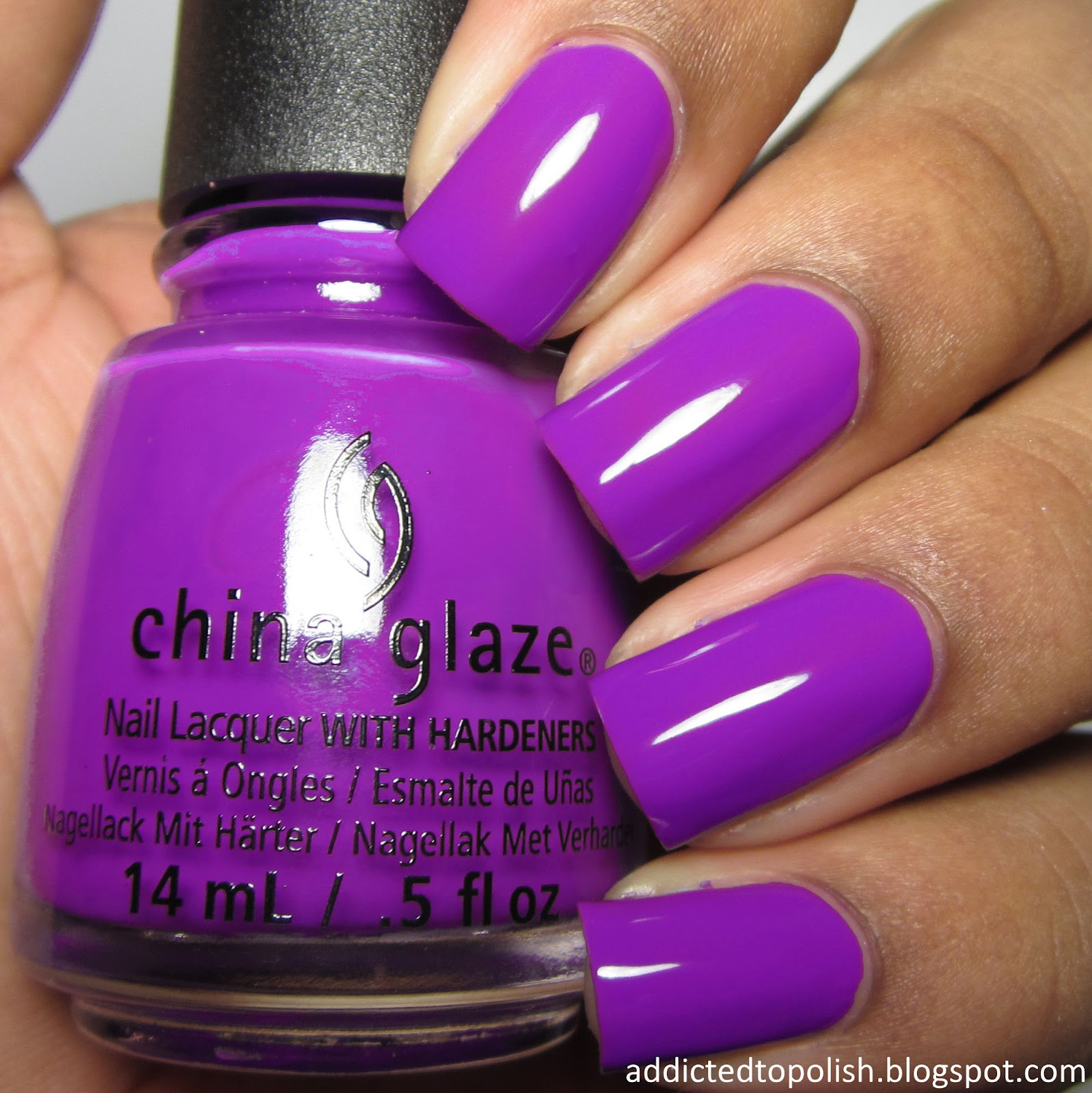 china glaze plur-ple summer 2015 electric nights
