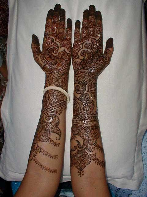 Henna Mehndi S : Latest bridal mehndi designs tattoos for men