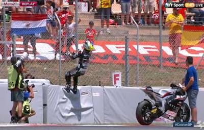 Hasil Lengkap Race Moto2 Catalunya, Spanyol 2015
