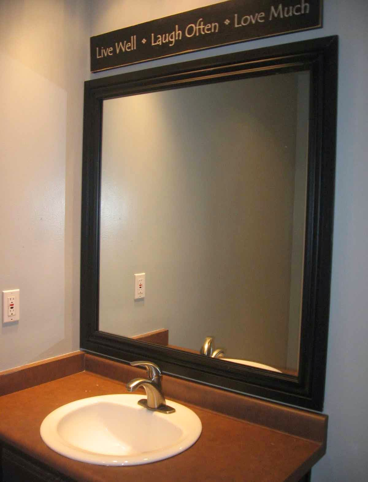 Model Design Glass Bathroom Mirrors | Home Desain, Tatto Desain ...