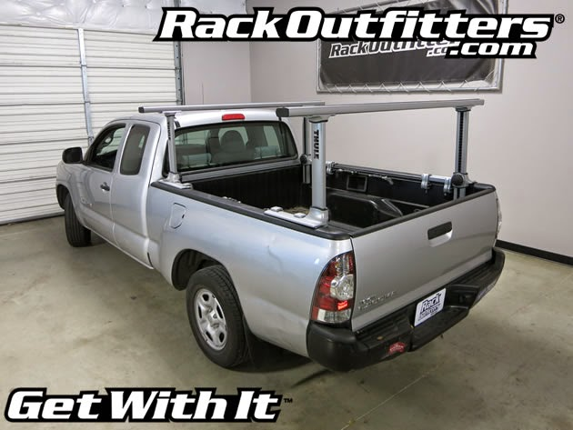 rack sr logic thule aluminum truck series sliding tracrac from