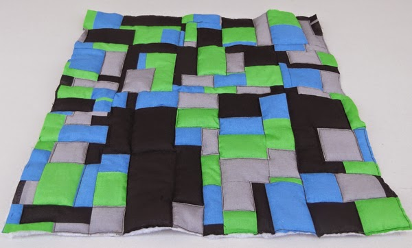modern patchwork, contemporary patchwork, abstract patchwork, patchwork ideas, plain color patchwork