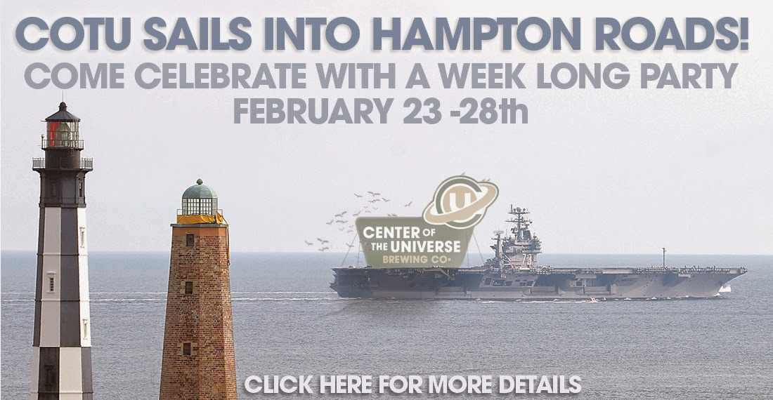 Brew happenings in the 757 february 2015 for Craft shows in hampton roads