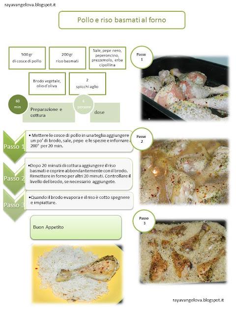 il ricettario da stampare - pollo e riso basmati