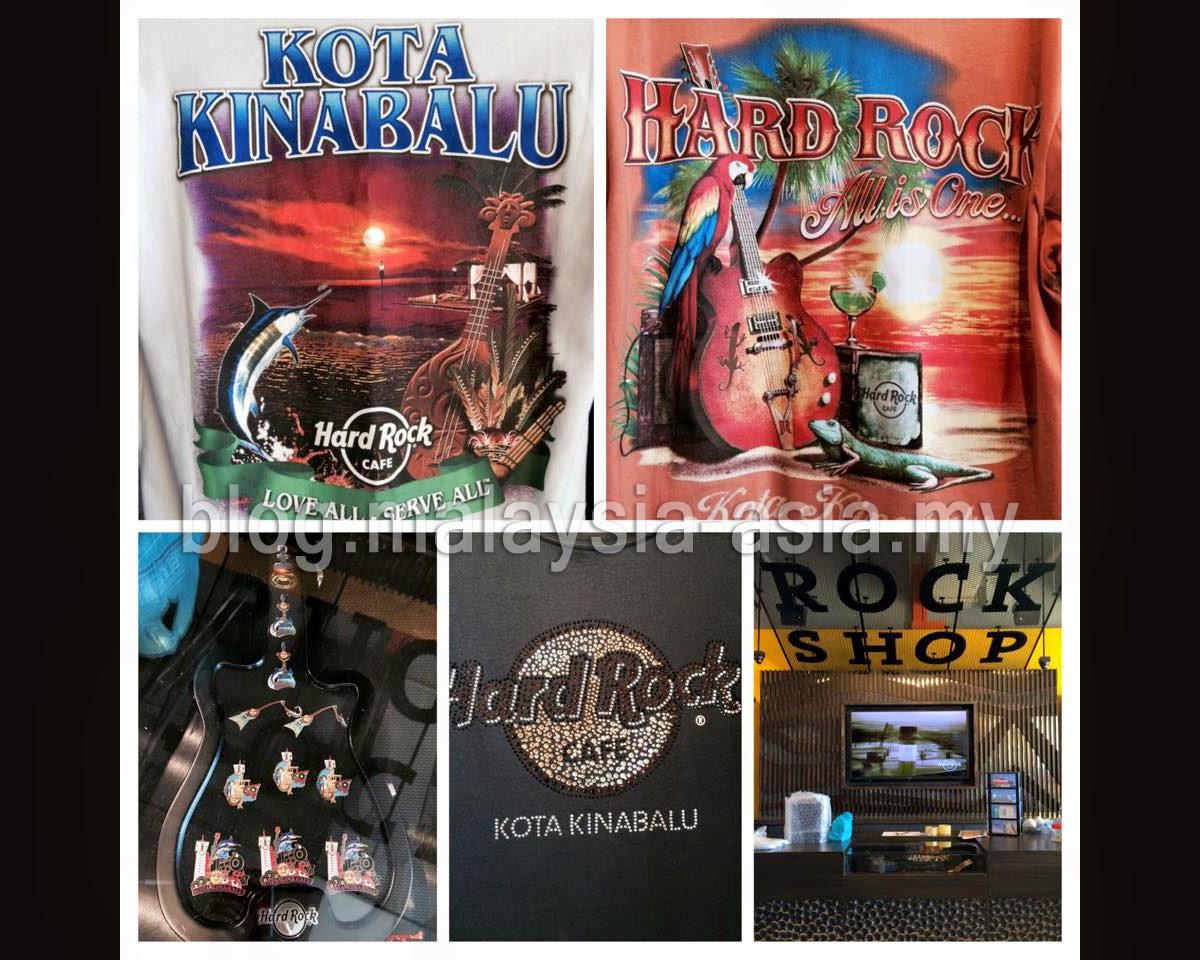 Hard Rock Cafe Kota Kinabalu Sabah Souvenirs