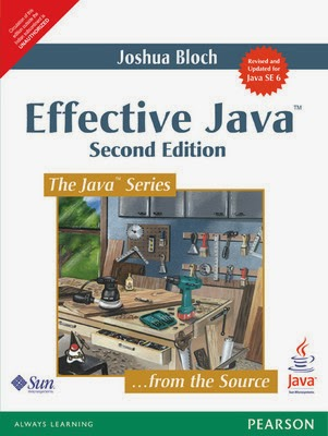 best books for learning java : effective java
