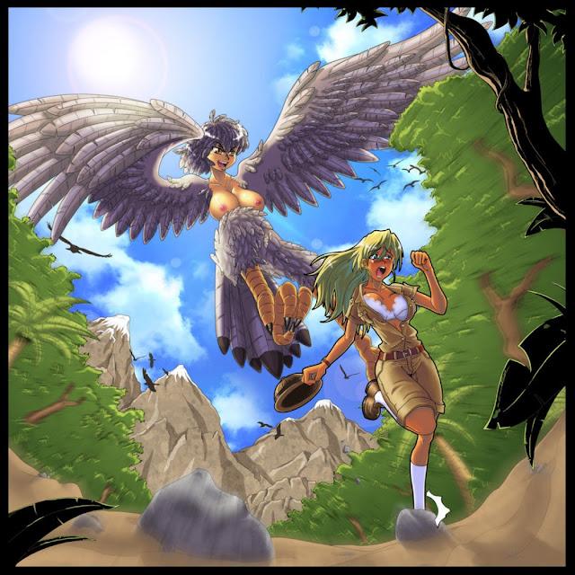 Harpy hunting por gamera1985