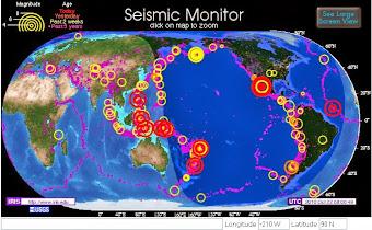 Monitor sísmico detallado