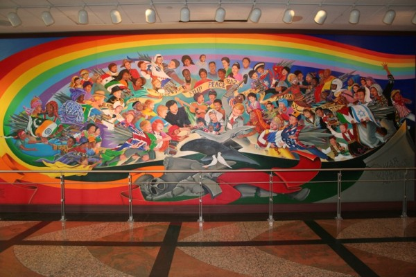 O misterioso aeroporto de denver eua for Mural dos sonhos o segredo