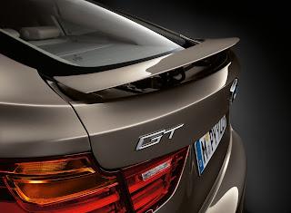 BMW 3 Series GT F34 active spoiler