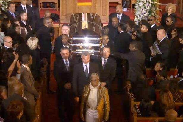 Whitney Houston Funeral waHOLAAA!! ...all the ...