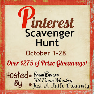 Pinterest Scavenger Hunt from Setting for Four