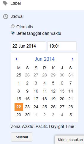 setelan tanggal dan waktu