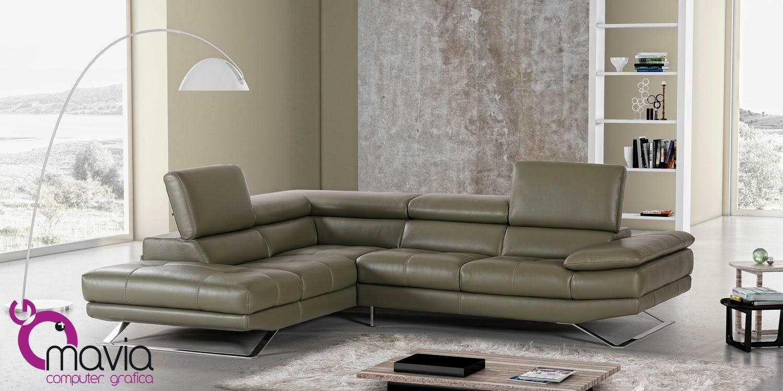 Arredamento di interni divano pelle verde fotografia for Arredamento di interni