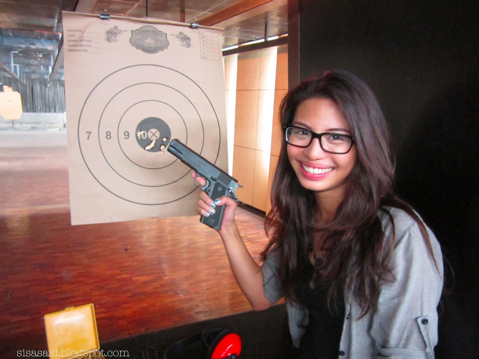 ring my bell gunslinging at the commander shooting range