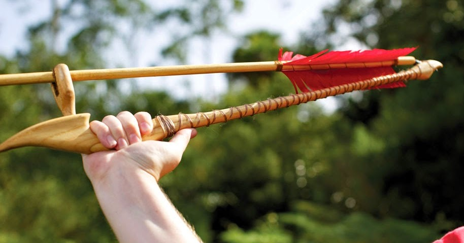 Hand Throwing Stone : Everything about archaeology what is the atlatl