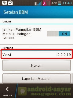 Free Download Official BBM for Android v.2.0.0.19 .APK Full Offline Installer