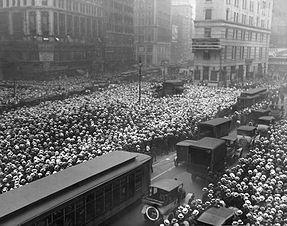 Times Square em 1921