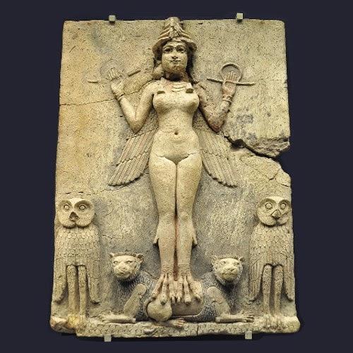 Lilith, ishtar, Ereshkigal