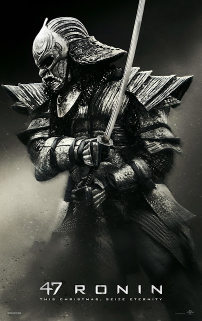 47 Ronin Armored Samurai Character Poster in HD