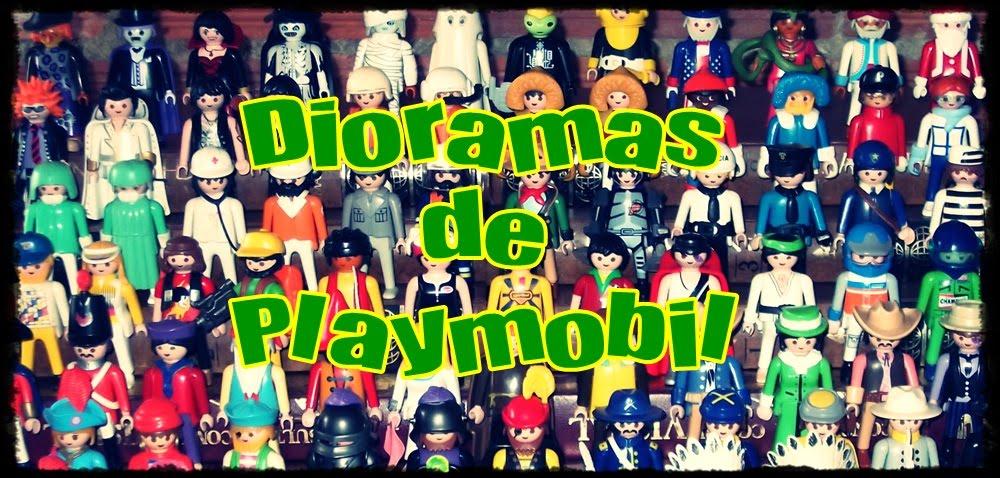 Dioramas de Playmobil