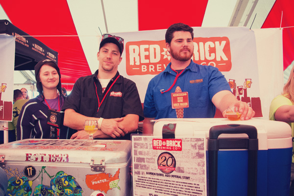 Red Brick Brewing at the 2014 East Nashville Beer festival