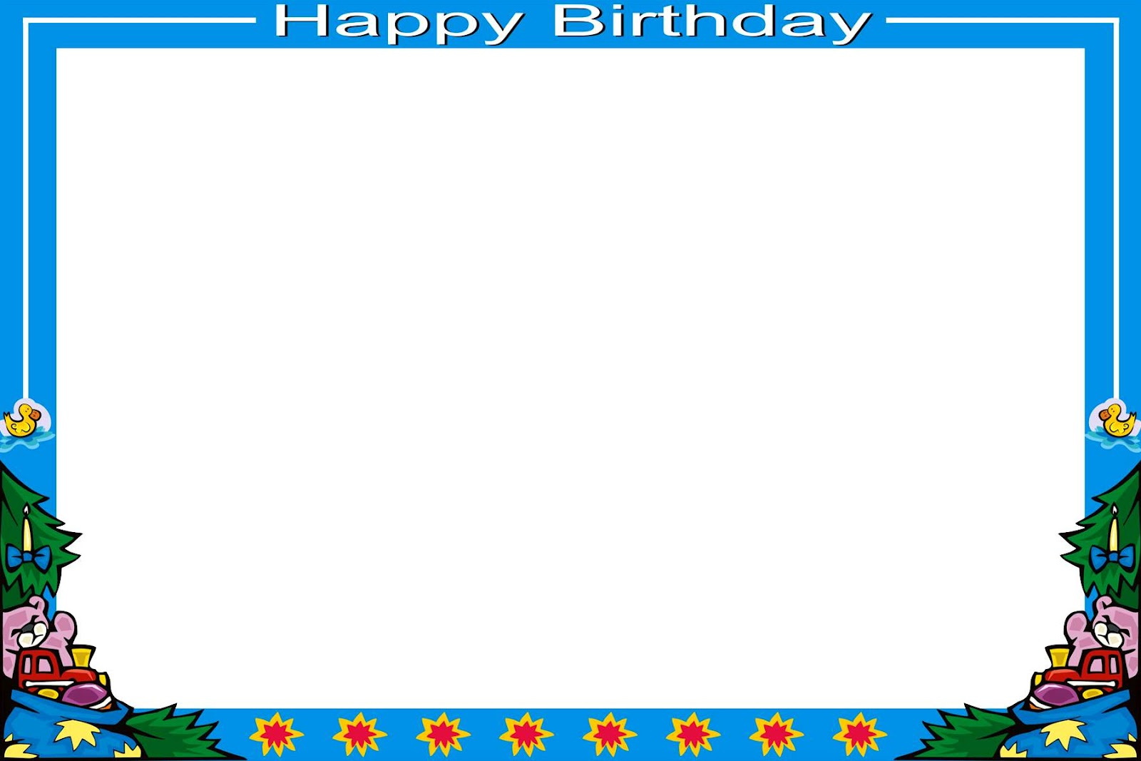 Frame Psd Flower Frames Birthday Design