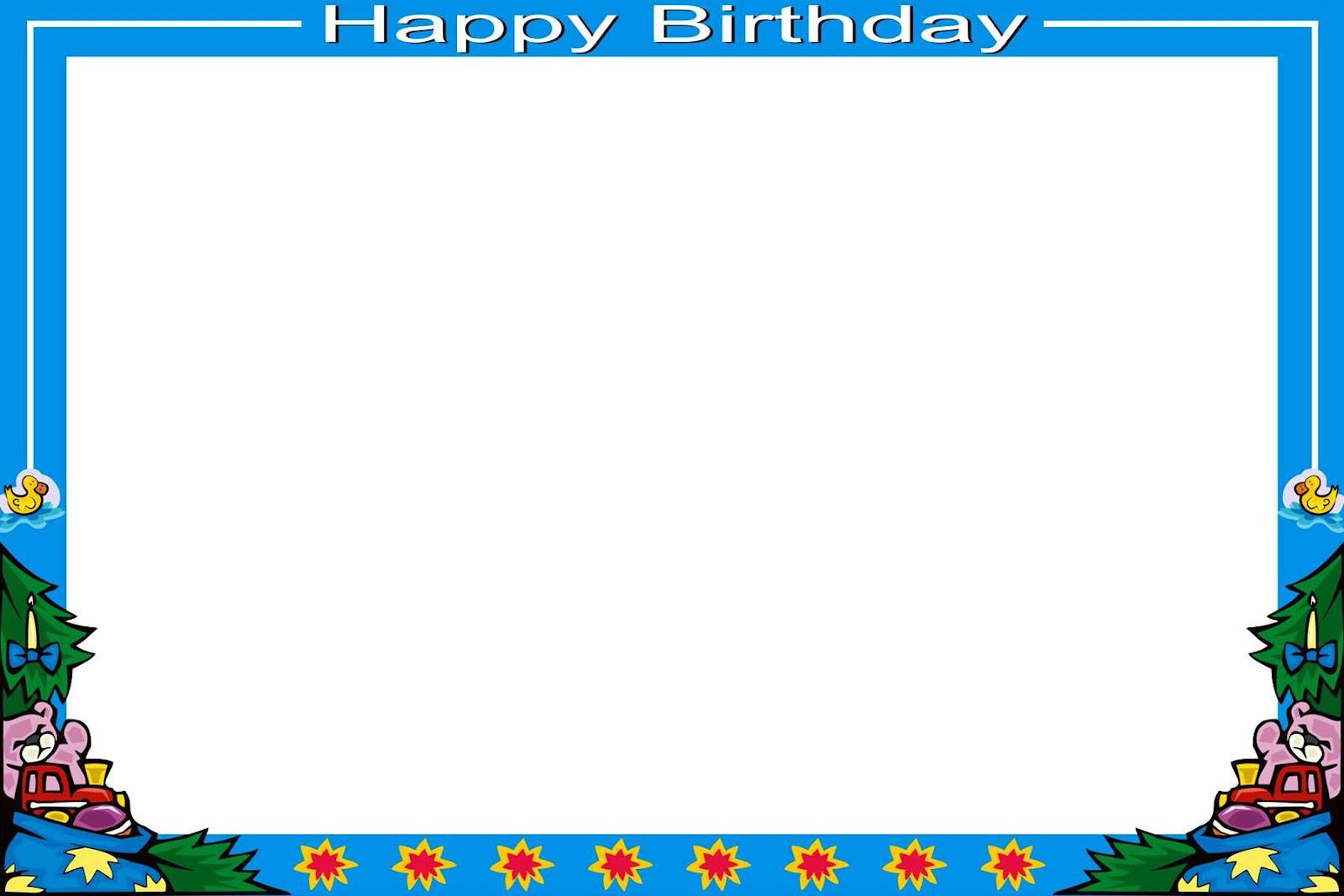 Frame Psd Flower Frames Birthday Design