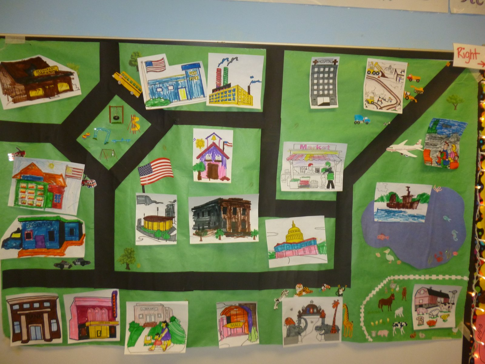 images for map 1st grade