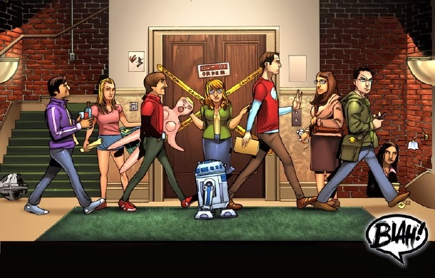 The Big Bang Theory Fan art