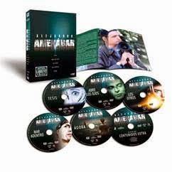 Pack con la filmografía de Alejandro Amanabar en DVD y Blu-ray